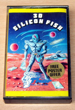 3D Silicon Fish - The cover art on the game's packaging.