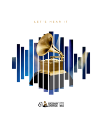 61st Annual Grammy Awards - Official poster
