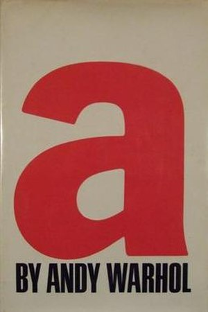 A, A Novel - Cover of the first edition