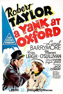 <i>A Yank at Oxford</i> 1938 film by Jack Conway