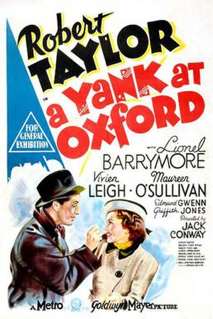 A Yank at Oxford - Theatrical release poster