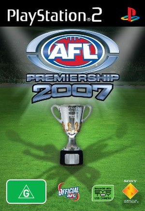 AFL Premiership 2007 - PlayStation 2 cover art