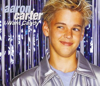 I Want Candy - Image: Aaron Carter I Want Candy cover