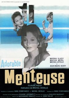 1962 French drama film directed by Michel Deville