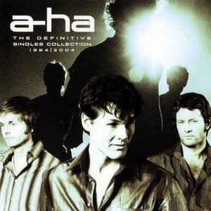The Definitive Singles Collection 1984–2004 - Image: Aha definitive singles collection