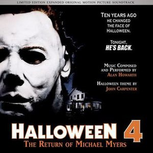Halloween 4: The Return of Michael Myers (soundtrack) - Image: Alan Howarth Halloween 4 The Return of Michael Myers soundtrack Limited Edition 2011