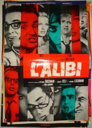 Alibi (1969 film) - Film poster