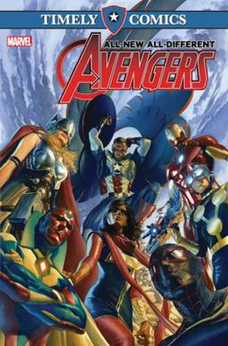 Timely Comics - Image: All New All Different Avengers