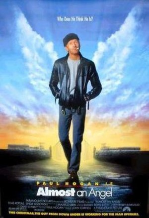 Almost an Angel - Theatrical release poster