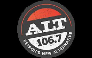 WDTW-FM - Image: Alt 106.7 logo
