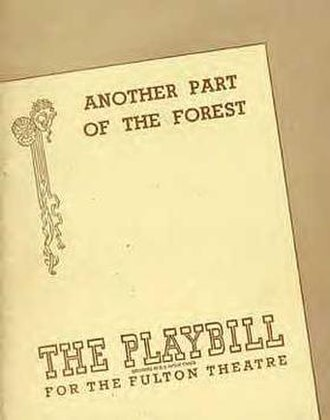 Another Part of the Forest - Original Playbill