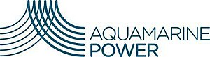 Aquamarine Power - Image: Aquamarine Power logo