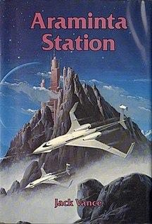 <i>Araminta Station</i> novel by Jack Vance