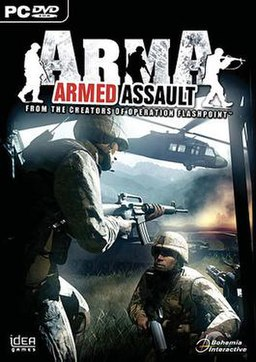 Armed Assault box cover