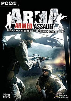 ARMA: Armed Assault - Image: Arma cover