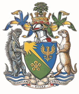 Royal Society of Biology - Coat of arms of the Royal Society of Biology