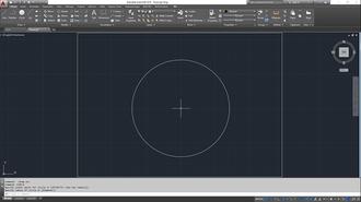AutoCAD - Image: Auto CAD 2016 screenshot
