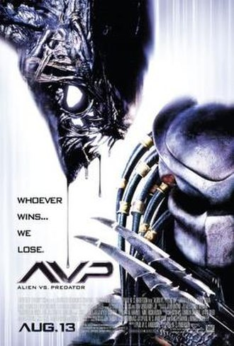 Alien vs. Predator (film) - Theatrical release poster