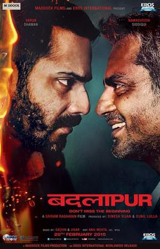 Badlapur (film) - Theatrical release poster