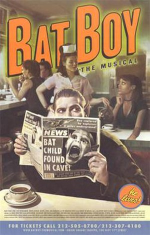 Bat Boy: The Musical - original off-Broadway poster