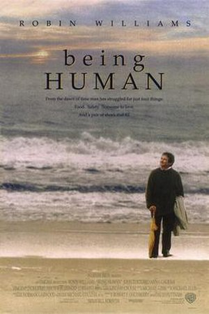 Being Human (1994 film) - Theatrical release poster