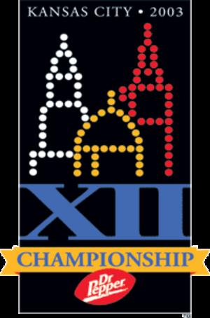2003 Big 12 Championship Game - 2003 Big 12 Championship logo.