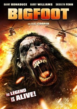 Bigfoot (2012 film) - DVD cover