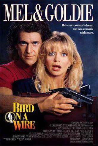 Bird on a Wire (film) - Theatrical release poster