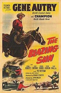 <i>The Blazing Sun</i> (1950 film) 1950 American western film directed by John English