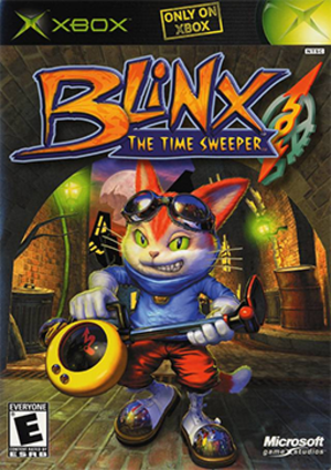 Blinx: The Time Sweeper - Image: Blinx The Time Sweeper Coverart