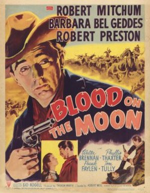 Blood on the Moon - Theatrical release poster