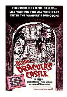 <i>Blood of Draculas Castle</i> 1969 film by Al Adamson and Jean Hewitt