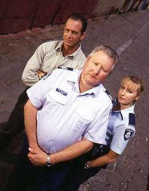 Blue Heelers - P.J. Hasham, Tom Croydon and Maggie Doyle