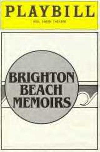 Brighton Beach Memoirs - Original Playbill
