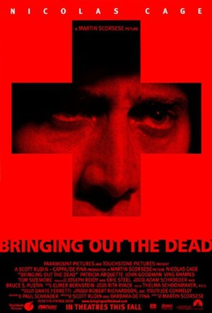 Bringing Out the Dead - Theatrical release poster