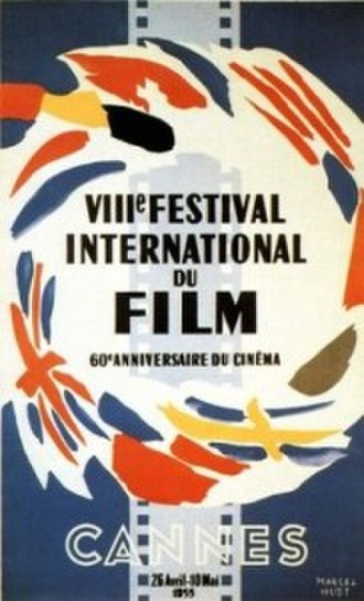 1955 Cannes Film Festival - Image: CFF55poster