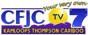 "CFJC-TV - CFJC-TV logo until 2007, with station slogan ""Your Very Own""."