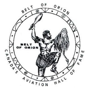 Canada's Aviation Hall of Fame - Belt of Orion Award of Excellence
