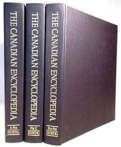 <i>The Canadian Encyclopedia</i> Encyclopedia on Canada