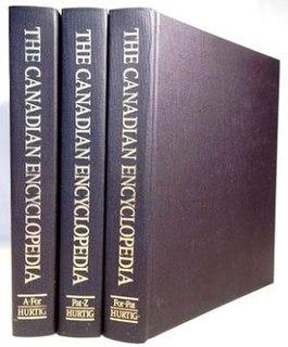 <i>The Canadian Encyclopedia</i> Encyclopedia on Canada