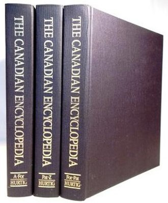 The Canadian Encyclopedia - Cover of 2000 edition