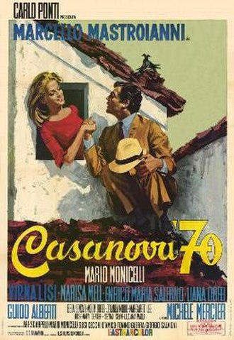 Casanova 70 - film poster