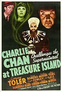 <i>Charlie Chan at Treasure Island</i> 1939 film by Norman Foster