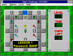 Screenshot of the Windows version