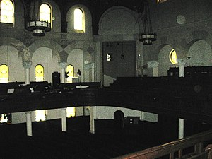 Sanctuary - The back of the church sanctuary at Church of St. Paul and St. Andrew.