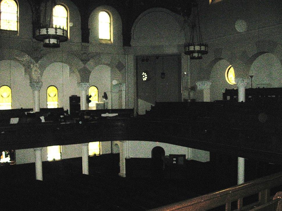 Churchofstpaulandandrewinterior