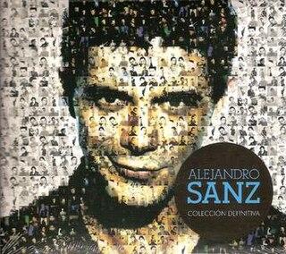 <i>Colección Definitiva</i> 2011 greatest hits album by Alejandro Sanz