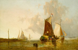 John Sell Cotman - The Mouth of the Yare
