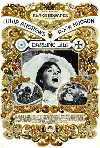 Darling Lili - Theatrical release poster