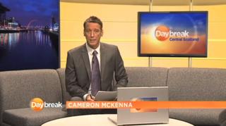 <i>Daybreak Scotland</i> Television news service